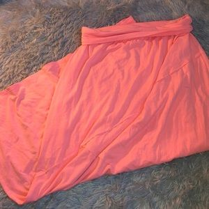 Maurice's Coral Maxi Skirt